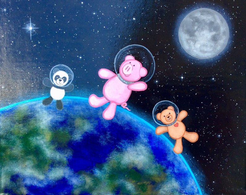 Stuffed Animal Sleepover: Mission to Mars