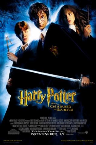 Movie cover for Harry Potter and the Chamber of Secrets